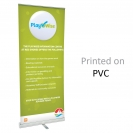 "39.5"" w x 82"" h Retractable Banner & Stand"